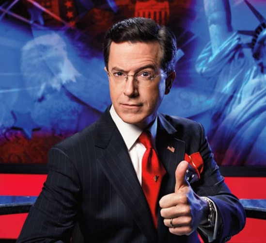 ca. 2006 --- Stephen Colbert --- Image by © F. Scott Schafer/Corbis Outline